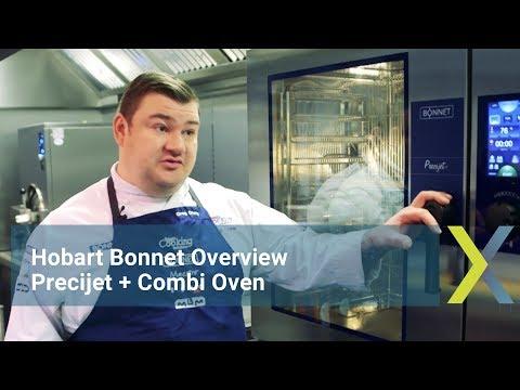 Hobart Bonnet Overview: Precijet+ Combi Oven
