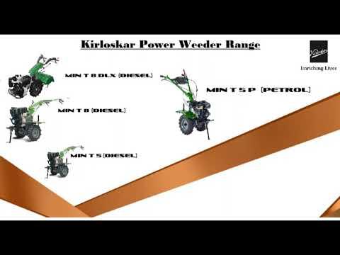 Kirloskar Power Weeder Min T 8 Hp