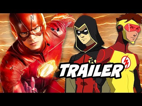 The Flash 4x21 Promo - Titans, Swamp Thing and Young Justice Season 3 Explained