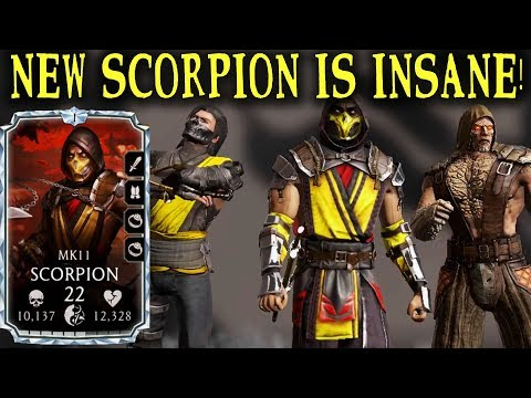 MKX Mobile  Ultimate Revenant Team! Before They Become