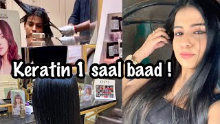 KERATIN HAIR TREATMENT AFTER ONE YEAR | Keratin Treatment is Good or Bad ? | Keratin Vs. Rebounding