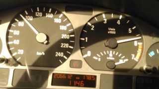 BMW 328i e46 ACCELERATION 0-100km/h