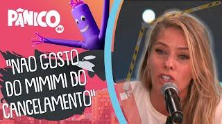 Adriane Galisteu comenta sobre imunidade à cultura do cancelamento