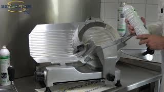 Aérosol désinfectant de 600ml à contact alimentaire et sans rinçage Sanibruiz SR3®| Carton de 6