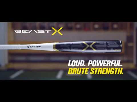 Easton Beast X BBCOR Baseball Bats | Tech Video