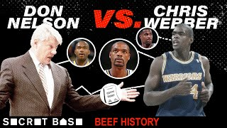 Chris Webber's beef with Don Nelson was a power struggle that ruined the Warriors thumbnail