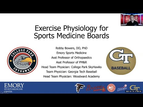 Exercise Physiology   National Fellow Online Lecture Series ...