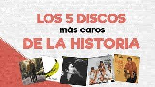 LOS 5 ÁLBUMES MÁS CAROS DE LA HISTORIA