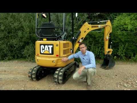 סרטון על מיני באגר 301.7D caterpillar - טרקטורים וציוד I.T.E