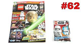 LEGO Star Wars Magazin Nr. 62 August 2020 mit einem imperial Stormtrooper