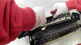 How To Clean & Replace Printer Copier Fuser Roller
