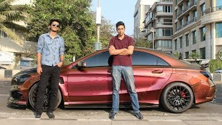 Widebody Supercar Reaction video in Mumbai | LOUD CLA 45 AMG
