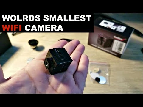 The worlds smallest wifi camera by Conbrov