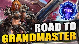 Sonya - poisoned spear build // Road to Grandmaster 2017 S1 // Heroes of the Storm