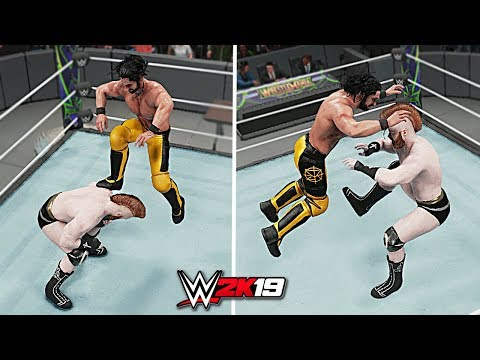 WWE 2K19 Top 10 Finisher to Finisher Reversals!! Part 6
