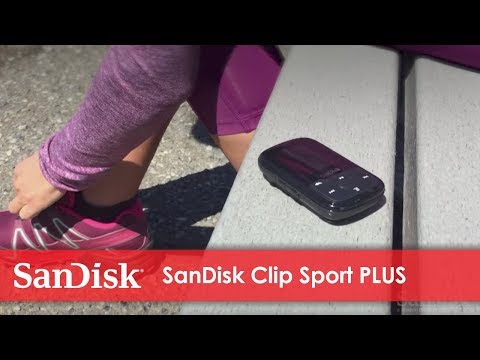 SanDisk Clip Sport PLUS Wearable MP3 Player