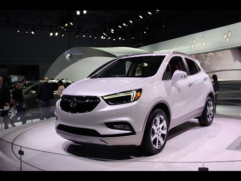 2017 Buick Encore First Look - 2016 New York Auto Show