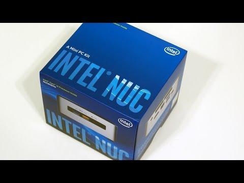Skylake NUC Unboxing (NUC6i3SYH)
