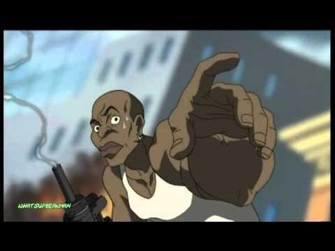 The Boondocks - Nigga Moment 1/2