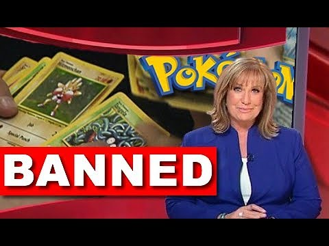 Pokemon Might Get Banned in America? (видео)
