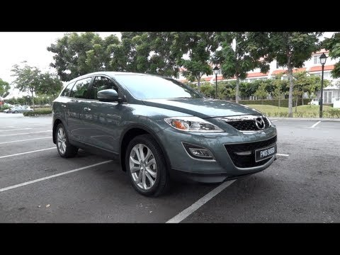 2011 Mazda CX-9 Start-Up, Full Vehicle Tour and Quick Drive