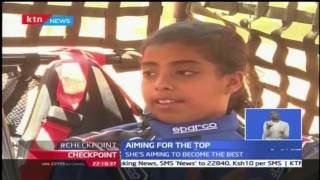 Youngest autocross driver in Kenya