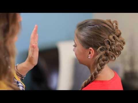 How to Create a Diagonal Bow Braid (видео)