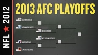 2012 - 2013 NFL Playoff Picture, Bracket and Schedule: AFC Edition