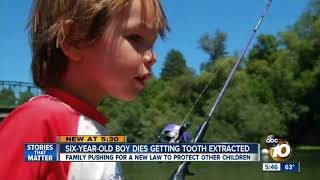Six-year-old boy dies getting tooth extracted