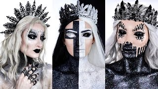 Dark Queens HALLOWEEN Makeup Tutorials | Simple Symphony