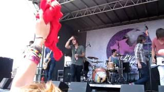 "Artist vs. Poet at the 2010 Vans' Warped Tour in Ventura, California, performing ""Damn Rough Night"""
