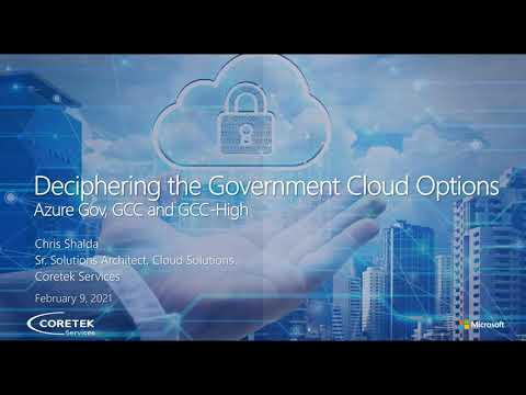 Deciphering the Government Cloud Options