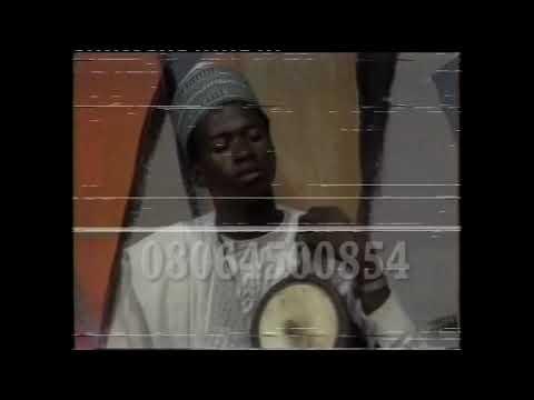 ALHAJI SABO SAYA SAYA POPULAR HAUSA MUSICIAN USING DRUM A WAKAR KANO