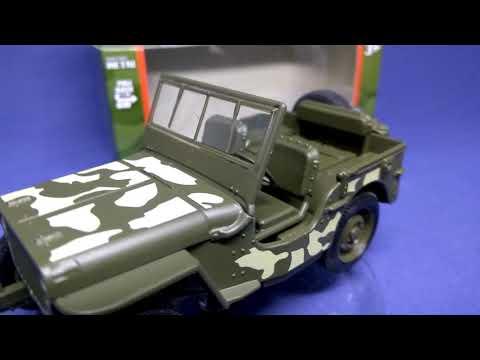 Jeep Willy's Welly  - моделька в масштабе 3D обзор