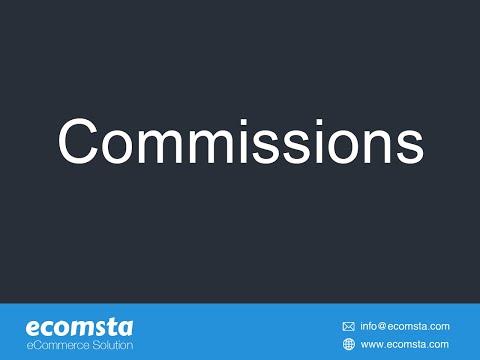 Commission -eCommerce Script