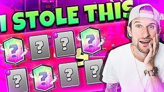 I Stole THIS DECK - IT'S UNDEFEATED - CLASH ROYALE