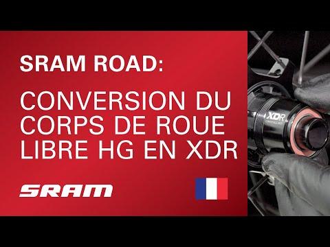 Conversion du corps de roue libre HG en XDR