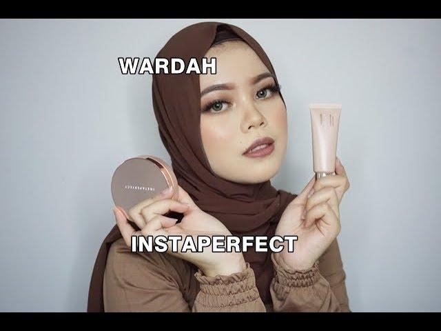 Wardah Primer & Cushion Instaperfect First Impression