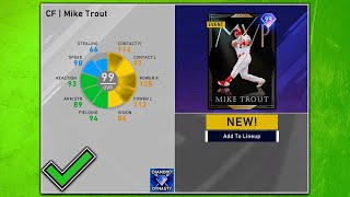 How to Unlock 99 Mike Trout Efficiently MLB The Show 20 Diamond Dynasty