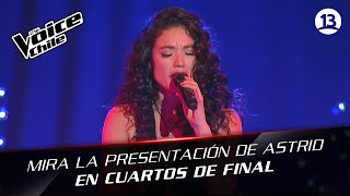 The Voice Chile | Astrid Veas - Fe
