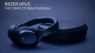 YouTube Video HQ4WVjBOlUw for Product Razer Opus Wireless Headphones with THX Certification & Active Noise Cancellation by Company Razer Inc. in Industry Headphones