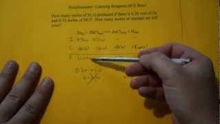Stoichiometry- Limiting Reagent (ICE Box)