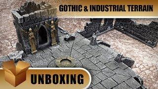 GameMat.eu Unboxing: Gothic Ruins & Industrial Terrain
