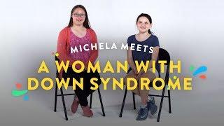 Kids Meet Woman with Down Syndrome (Michela) | Kids Meet | HiHo Kids