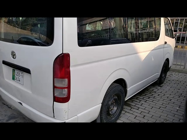 Toyota Hiace 2008 for Sale in Lahore