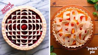 Pie, Oh My! 9 Creative Pie Crusts! So Yummy