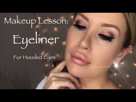 HOW TO DO EYELINER ON HOODED EYES: Easy Tutorial, Tips And Tricks| Risa Does Makeup