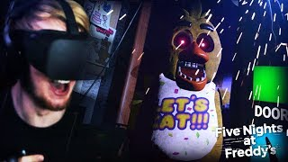 FNAF 1 IN VR? I CAN NOT HANDLE THIS. || Five Nights At Freddy