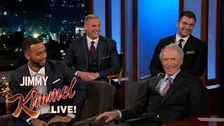Clint Eastwood and Real-Life Heroes from Paris Train Attack