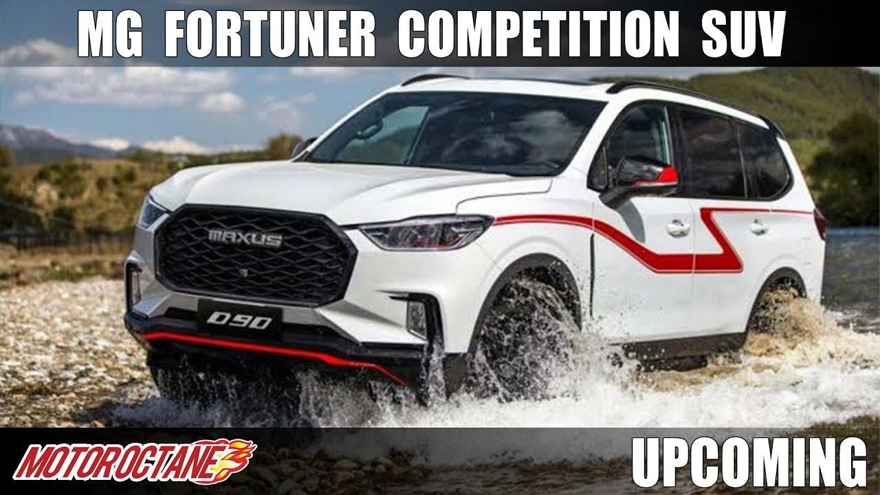 Motoroctane Youtube Video - MG Fortuner Competition SUV | Hindi | MotorOctane